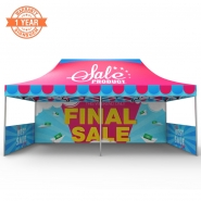 10x20 FT Custom Canopy with Printing