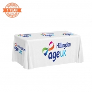 5ft Custom Table Covers with Printing (Standard)