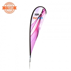 10FT Custom Teardrop Flags Kits with Printing