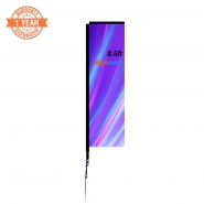 8.5FT Custom Blade Flags Kits with Printing