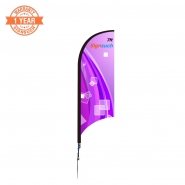 Wave 7FT Custom  Feather Flags Kits with Printing