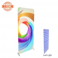LED Pop Up Display Backdrop with Custom Printing