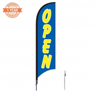 10' Open Feather Flags S0823
