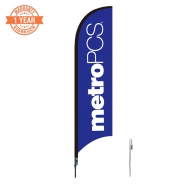 10' Metro Feather Flags S0858