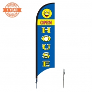 10' Open Feather Flags S0832