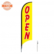 10' Open Feather Flags S0821