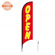 10' Open Feather Flags S0822