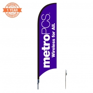 10' Metro Feather Flags S0857