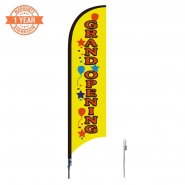 10' Open Feather Flags S0843