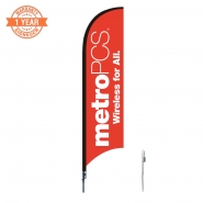 10' Metro Feather Flags S0856