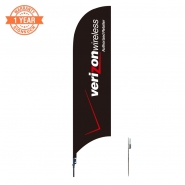 10' Cellphone Feather Flags S0860