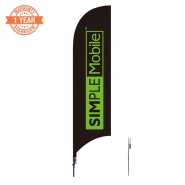 10' Cellphone Feather Flags S0851