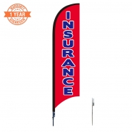 10' Financial Feather Flags S0841